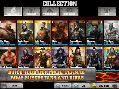Download WWE Immortals v2.1 APK Mod + Data (Unlimited Money + Energy)