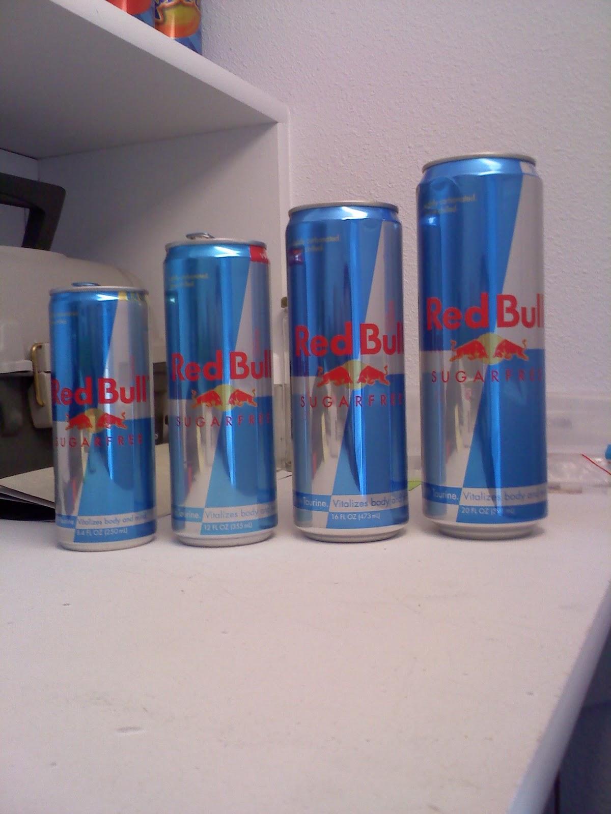 caffeine in sugar free red bull