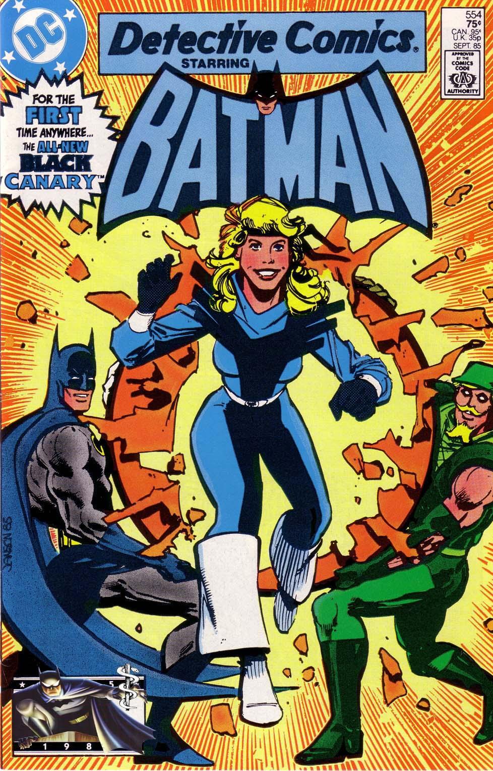 Detective Comics (1937) 554 Page 0