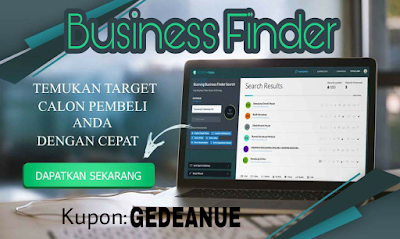 6 Kemudahan Bussiness Finder