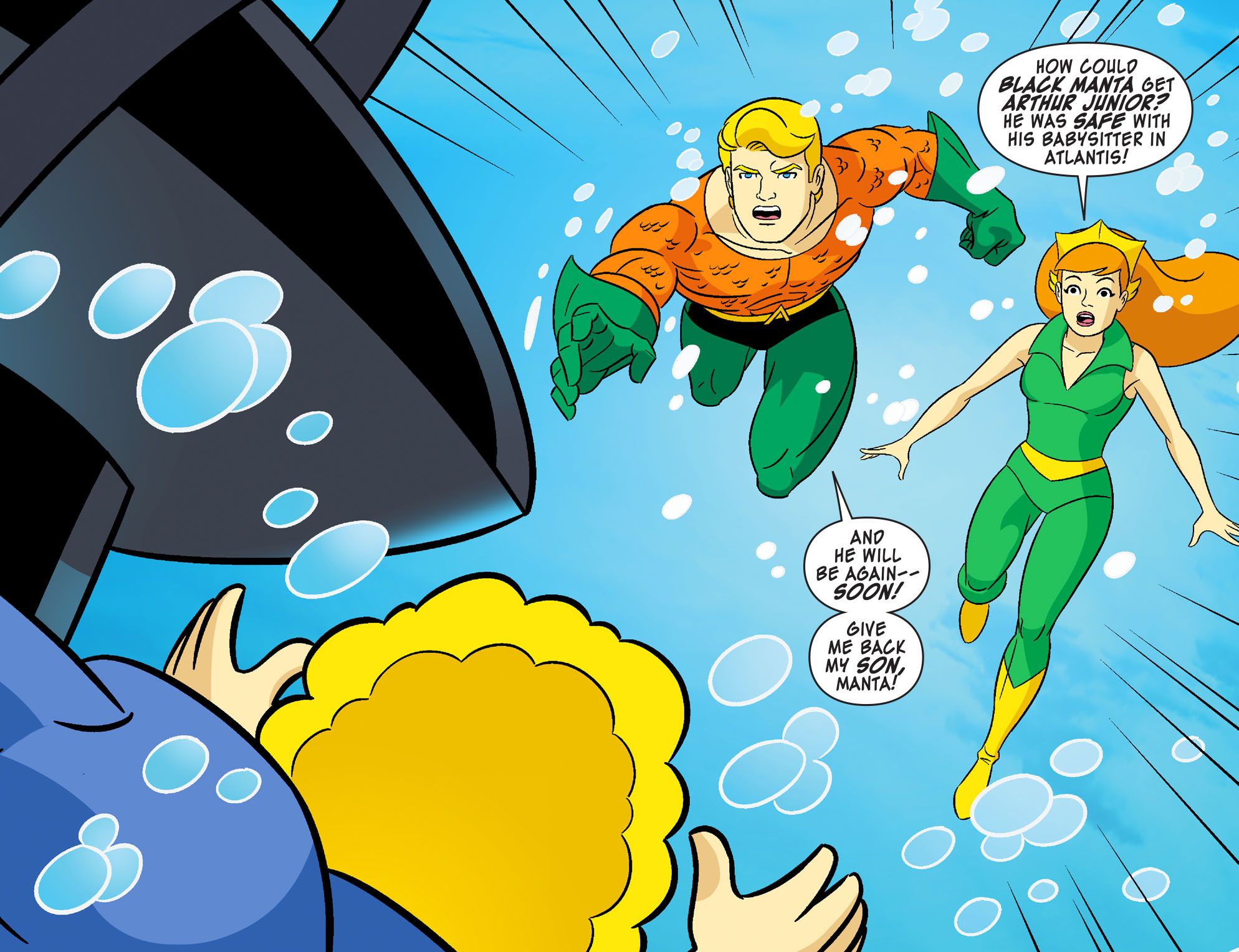 Read online Scooby-Doo! Team-Up comic -  Issue #28 - 4