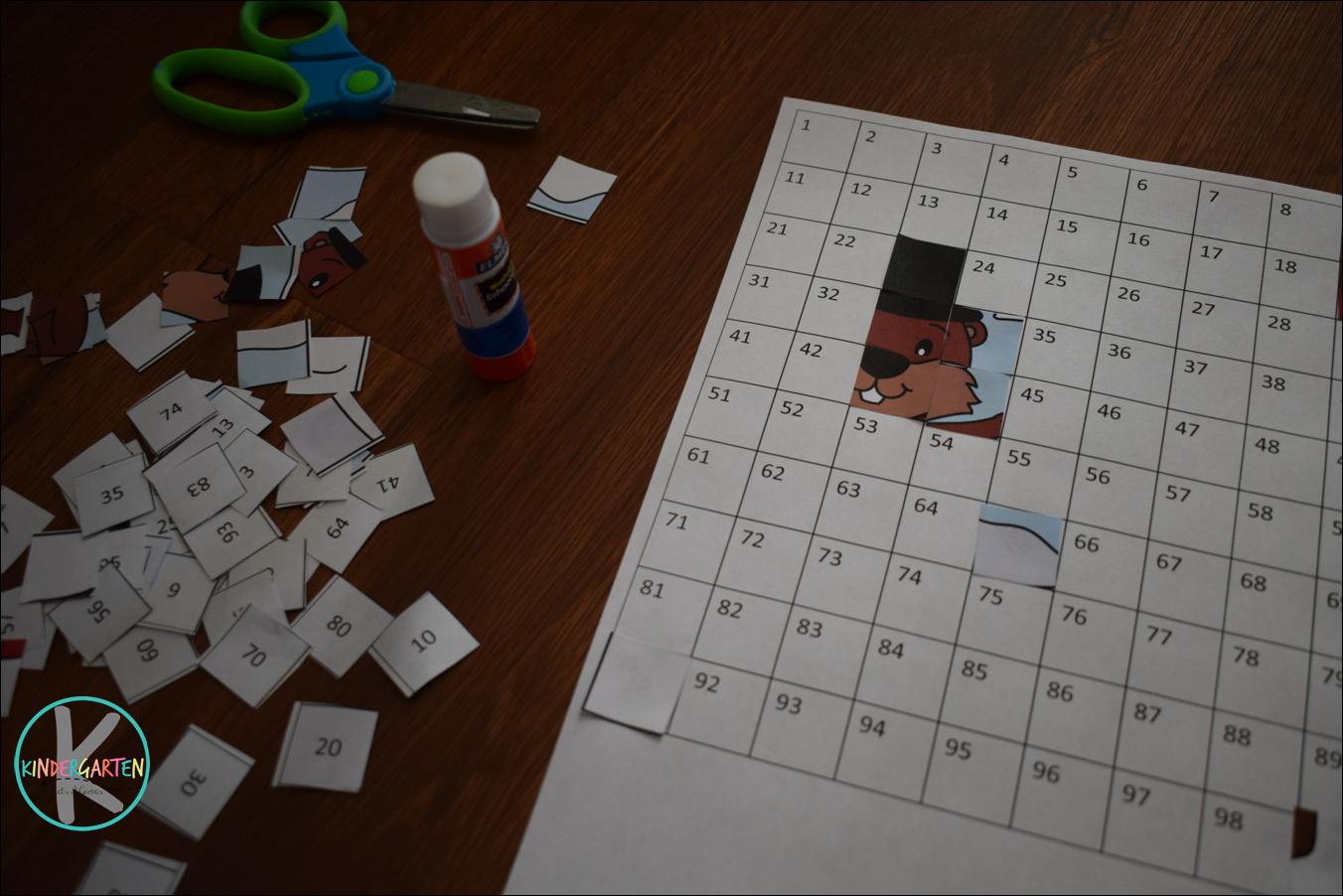 Kindergarten Worksheets And Games Free Groundhog Day