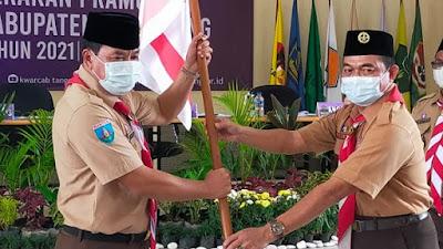 Muscab XIII Gerakan Pramuka, Wakil Bupati Tangerang Kembali Pimpin Organisasi Tunas Kelapa