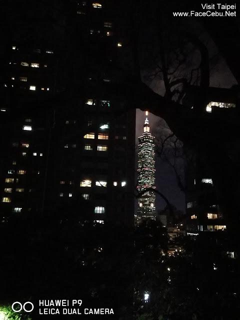 Still clear shot at night...taipei 101