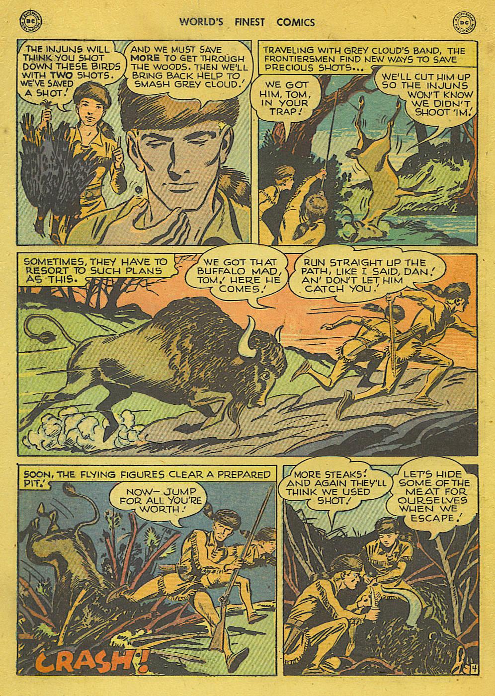 Read online World's Finest Comics comic -  Issue #34 - 20