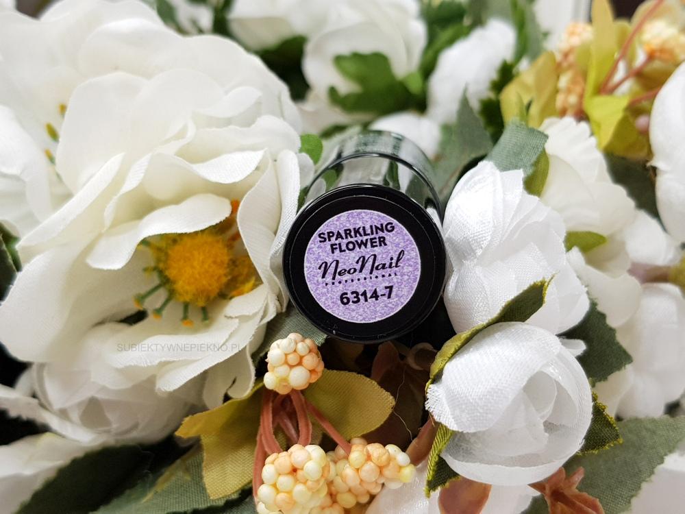 SPARKLING FLOWER NeoNail 6314 | Kolekcja Think Blink!