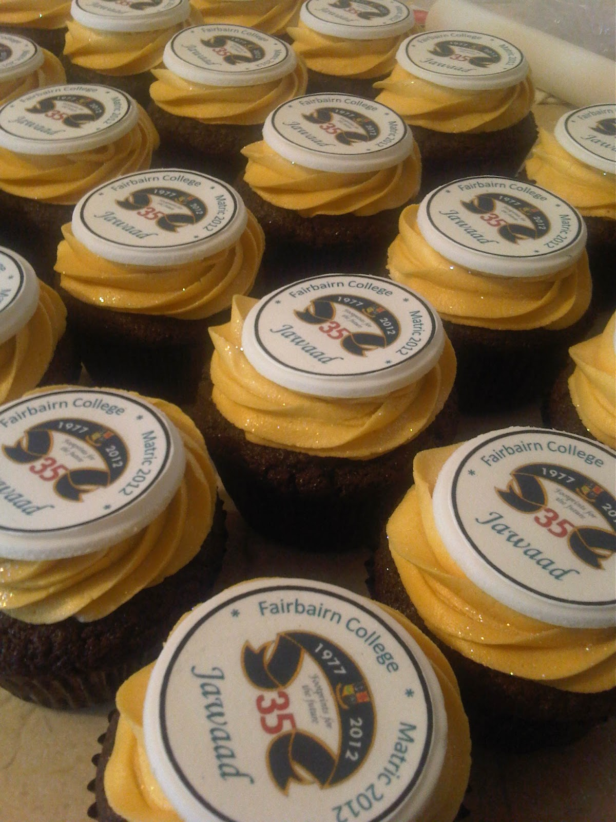 Welcome To Just Iced Matric Cupcakes For Fairbairn College