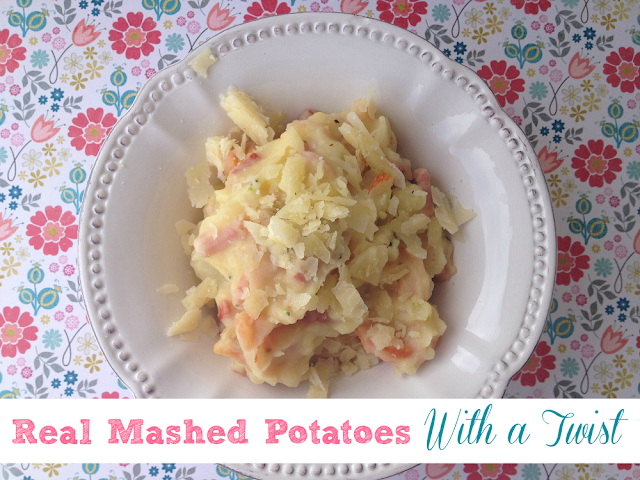 Real Mashed Potatoes With a Twist
