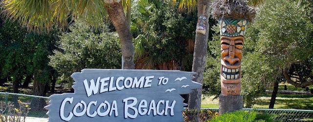 Llegando a Cocoa Beach