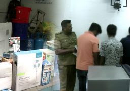 Robbery Gang Arrested In Gampaha
