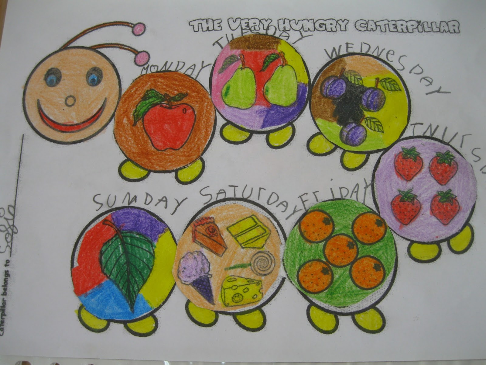 Sonia S Pocket Full Of Kids Pictures About The Very Hungry Caterpillar