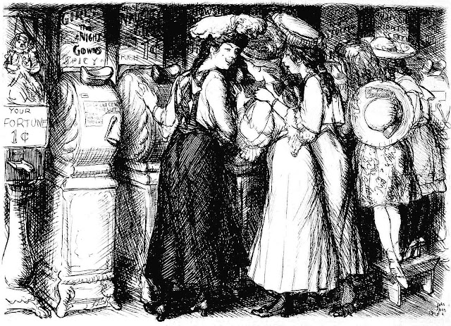 John Sloan girls looking at erotica for men 1905