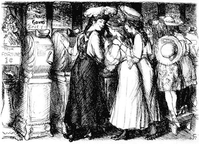 John Sloan girls looking at erotica for men 1905