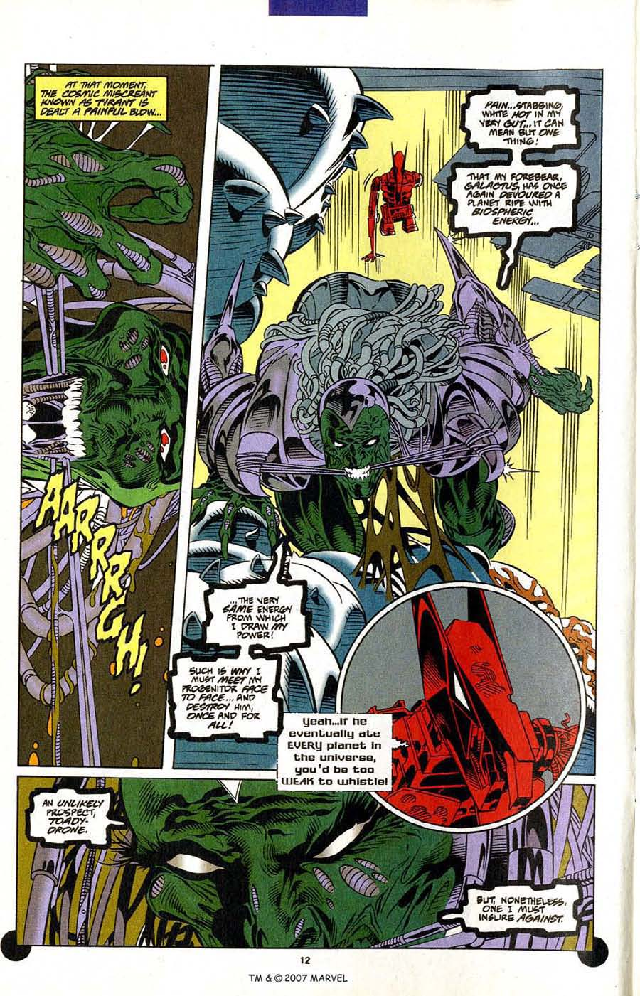 Read online Silver Surfer (1987) comic -  Issue #106 - 14