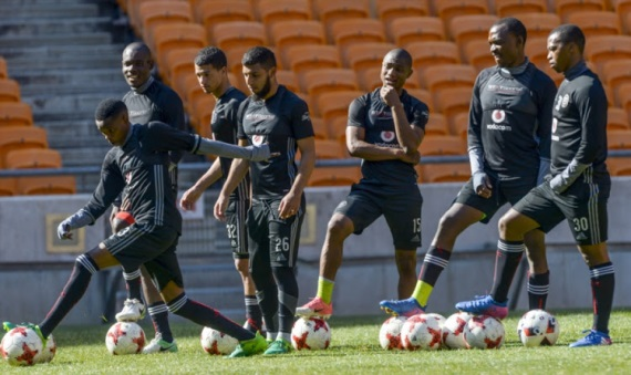 Orlando Pirates pre-season training underway