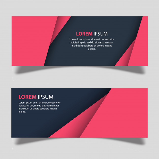Vector Banner Designs Template Free Vector ~ vectorkh