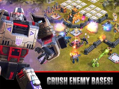 Download Transformers: Earth Wars Apk v1.29.0.13325 (Mod Money) Terbaru