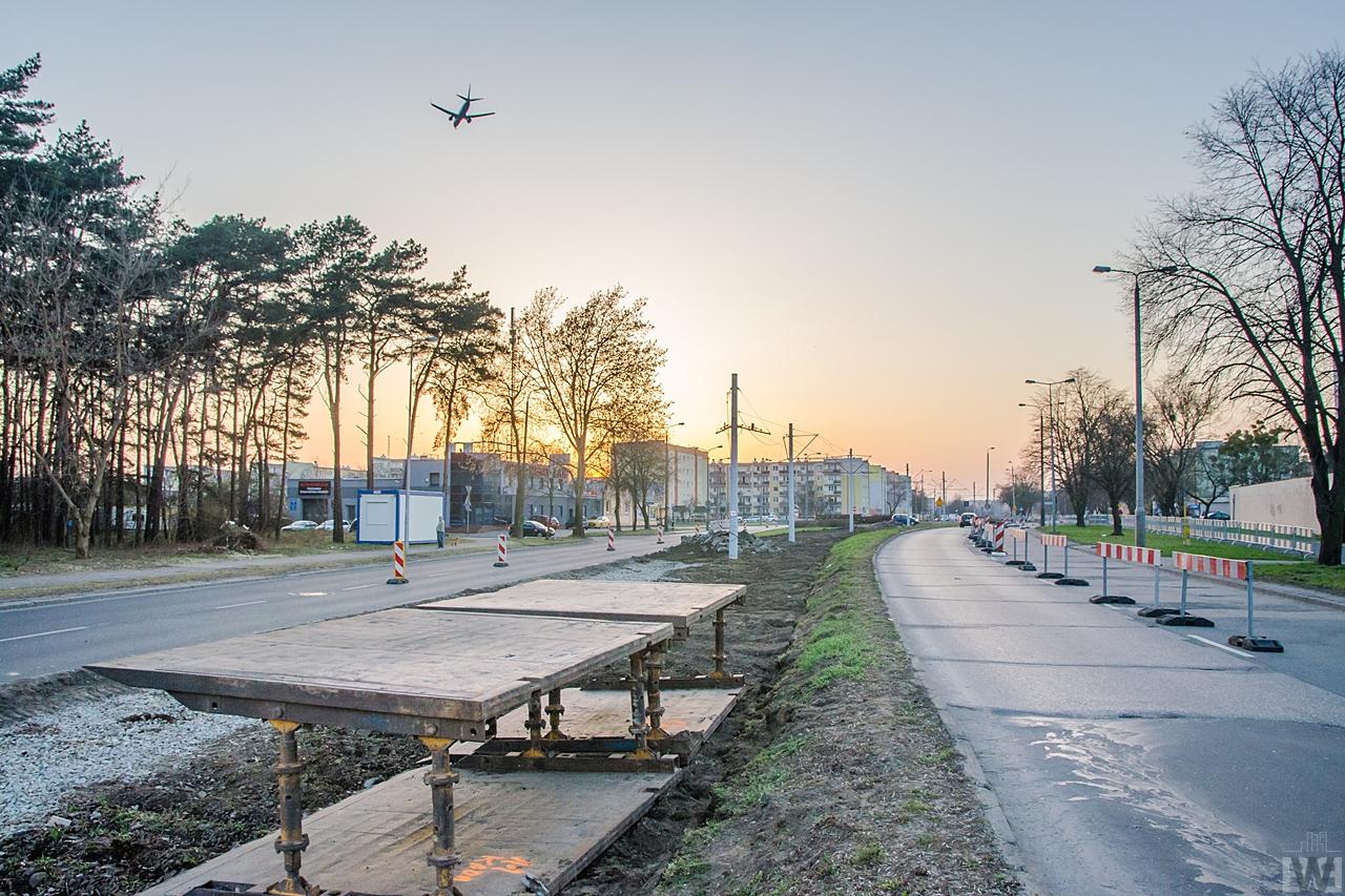Bydgoszcz W Budowie Pętla Kapuściska Początek Przebudowy