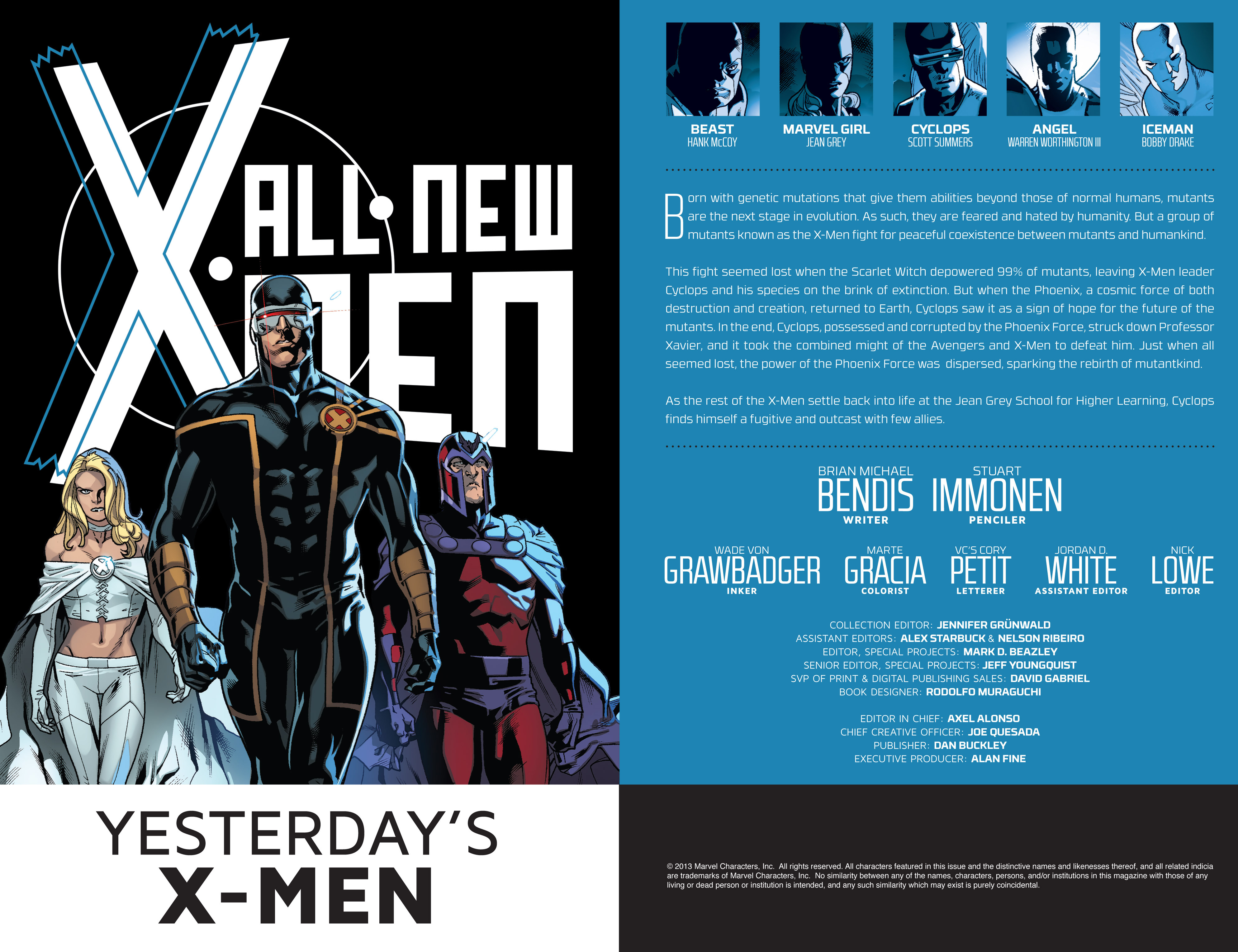 Read online All-New X-Men (2013) comic -  Issue # _Special - Yesterday's X-Men - 105