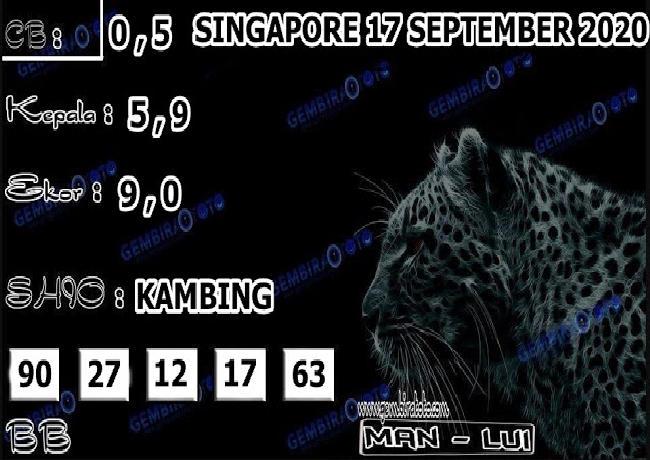 Kode syair Singapore Kamis 17 September 2020 171