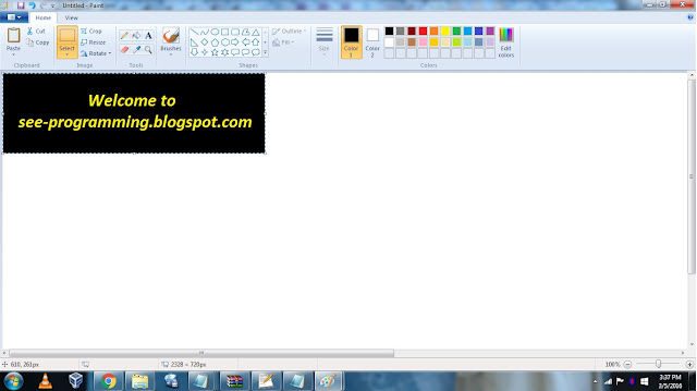 How To Crop An Image In Paint Without White Background