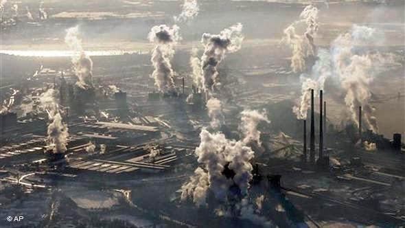Poluição radioativa, calor e ruído