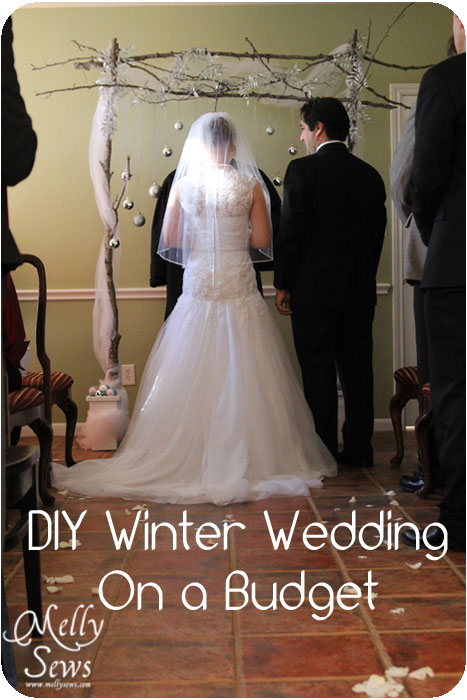 wedding ideas on a budget for winter winter wedding on a budget diy backdrop tutorial melly 27778