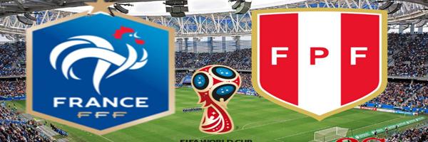 يلا كورة مشاهدة مباراة فرنسا وبيرو كورة اون لاين اليوم الخميس 21-6-2018 كورة ستار بث مباشر