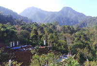 pemandangan desa colo kota kudus