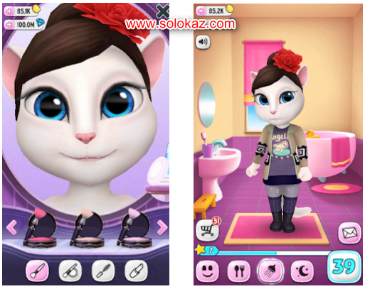 Mod Apk My Talking Angela Android