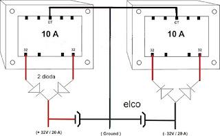 cara meyambung trafo, cara menggabungkan 2 trafo CT, cara menambah ampere trafo,