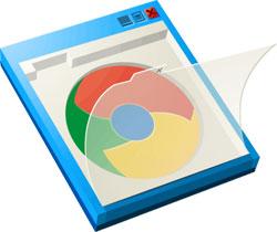Chrome Frame Logo