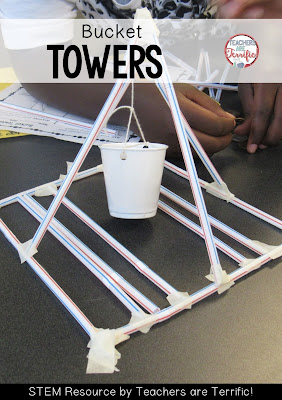STEM Challenges: Straws are such a great material to use for your STEM projects. They are easy to use, come in many colors and sizes, and they are inexpensive! Here's another tower project that used straws and also students had to suspend a container!