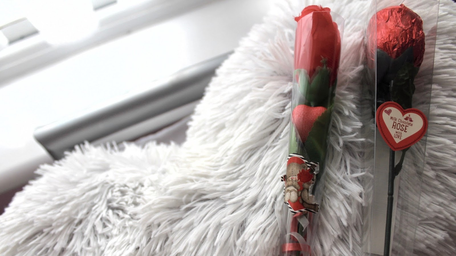 Roses, Chocolate & Fluffy Pillows