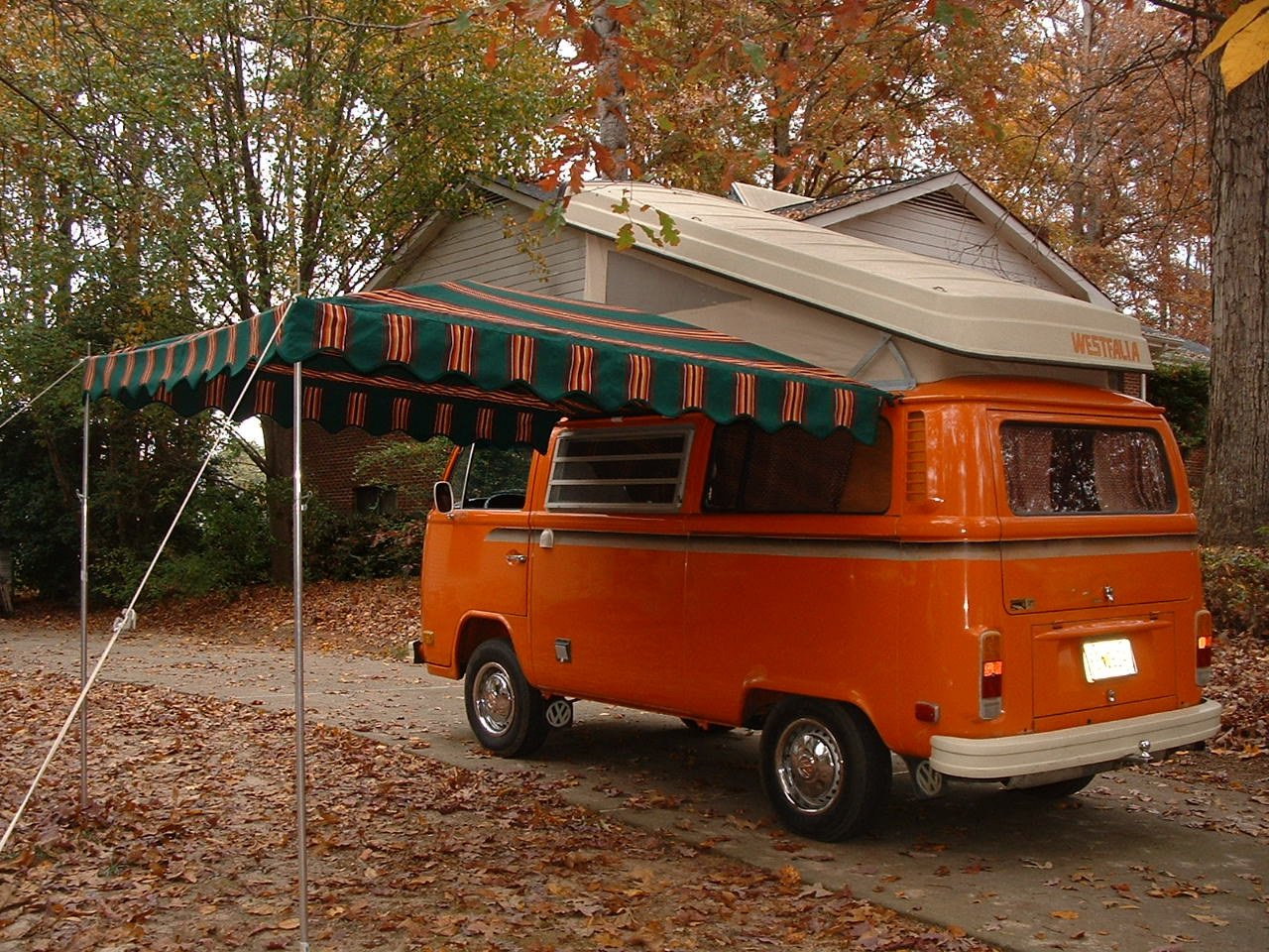Vintage Awnings Brain Storming By The Lake With The