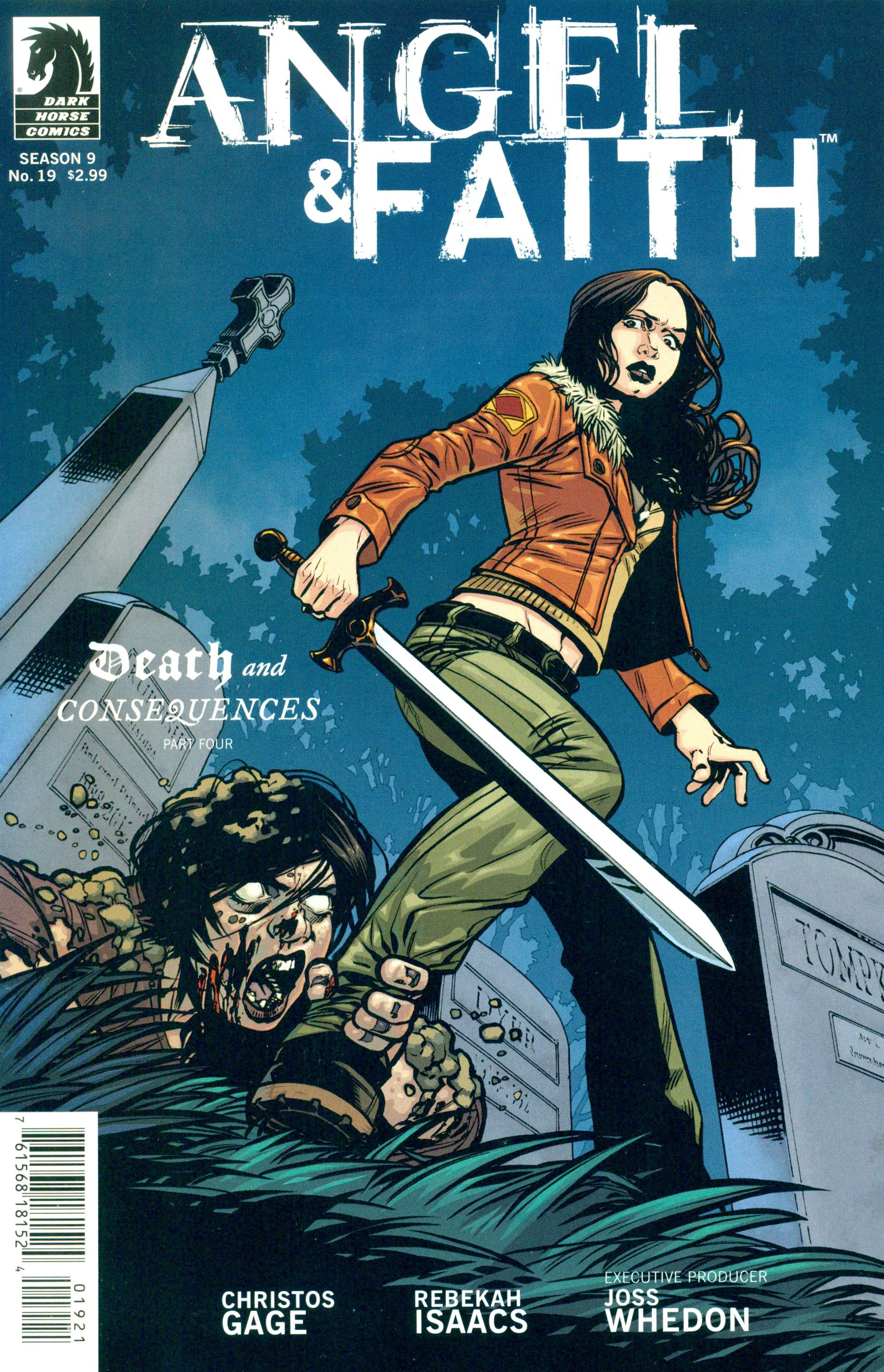 Read online Angel and Faith comic -  Issue #19 - 2