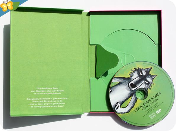 Les albums filmés de l'école des loisirs - Volume 2 - C'est moi le plus fort de Mario Ramos