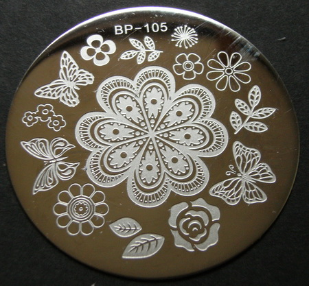 BP-105 stamping plate at BornPretty