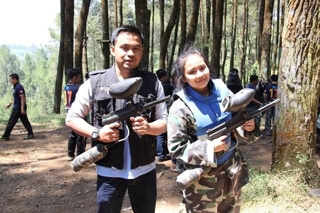 Destinasi Wisata Paintball Bandung Gravity Adventure yang Populer dan Sering Dikunjungi