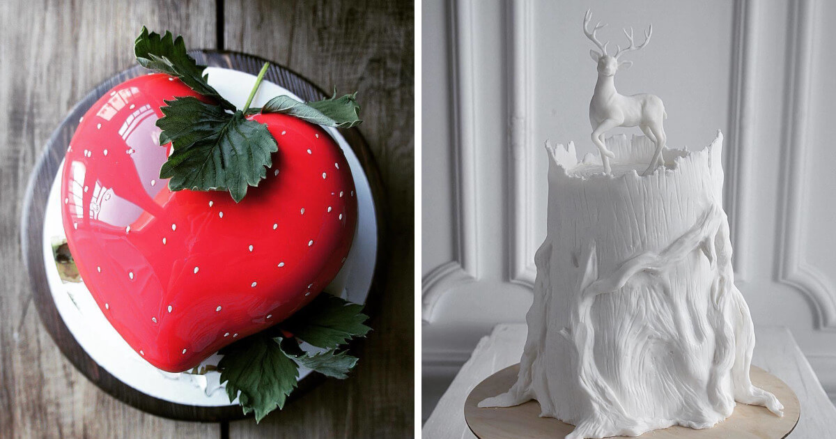 40 Extraordinarily Beautiful Cakes That You Would Like To Try