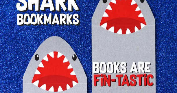 Free Printable Shark Bookmarks Artsy Fartsy Mama