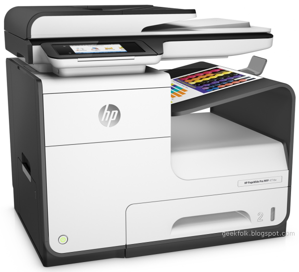 HP PageWide Pro 477dw Multi-Function Printer