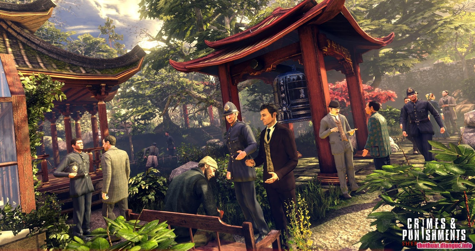 Tải Game Sherlock Holmes: Crimes and Punishments Full Crack, Sherlock Holmes Crimes and Punishments free download