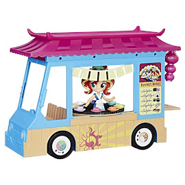My Little Pony Equestria Girls Minis Mall Collection Rollin' Sushi Truck Sunset Shimmer Figure