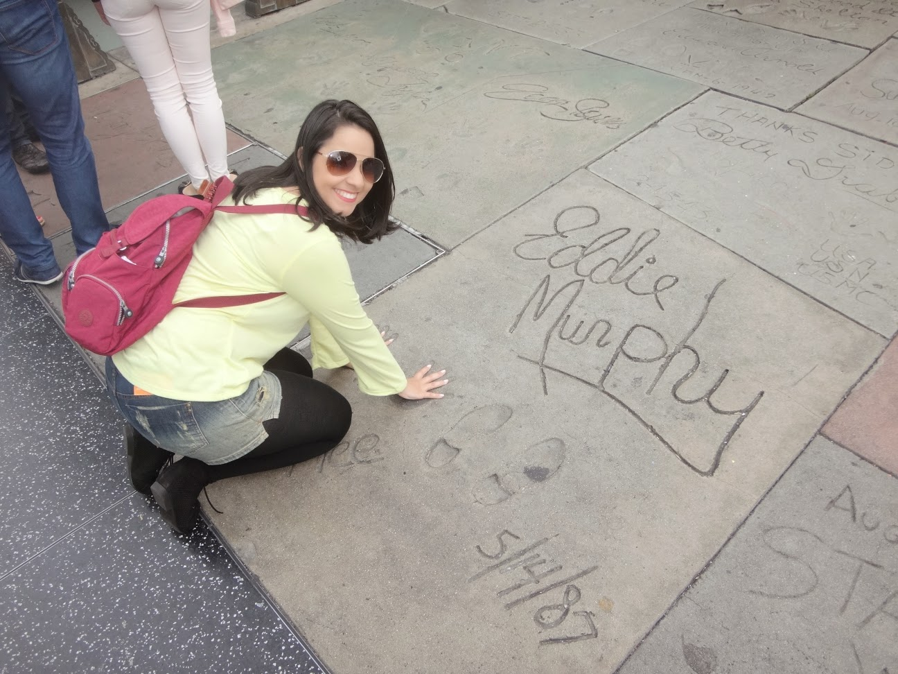 eddie murphy - chinese theater - calçada da fama - hollywood - los angeles - california