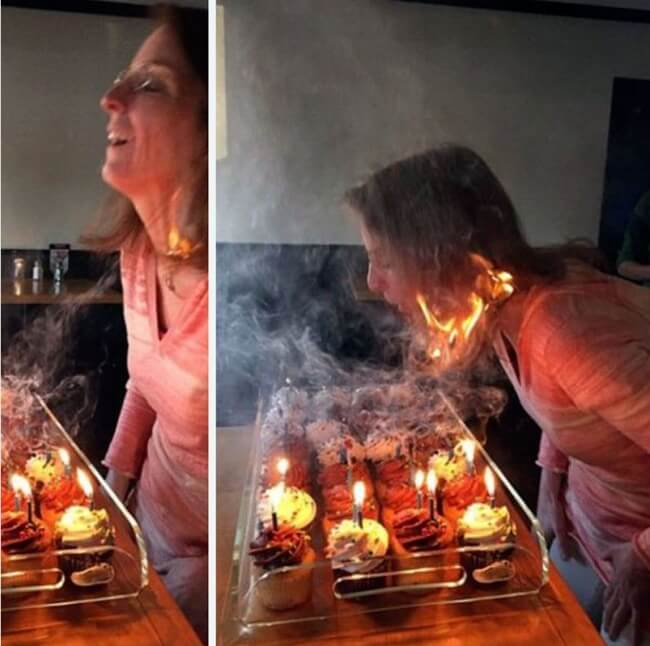 The Definition Of Bad Luck In 26 Images - Evil happy birthday cupcakes