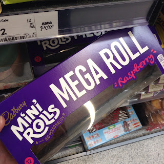 cadbury mini rolls mega roll cake