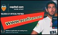 VALENCIA CF est le partenaire officiel de plateforme capital.com