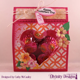 Divinity Designs Stamp Set: Festive Favors Tag Sentiments, Mixed Media Stencils: Circles, Custom Dies, Festive Favors, Pierced Rectangles