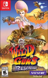 Wild Guns Reloaded Switch XCI NSP